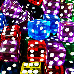 Dice by kagedfish (Flickr)