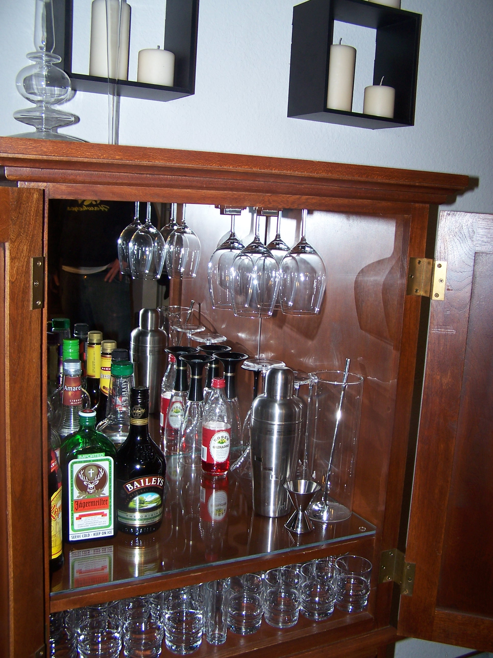 mini bar | Make Mine Eclectic