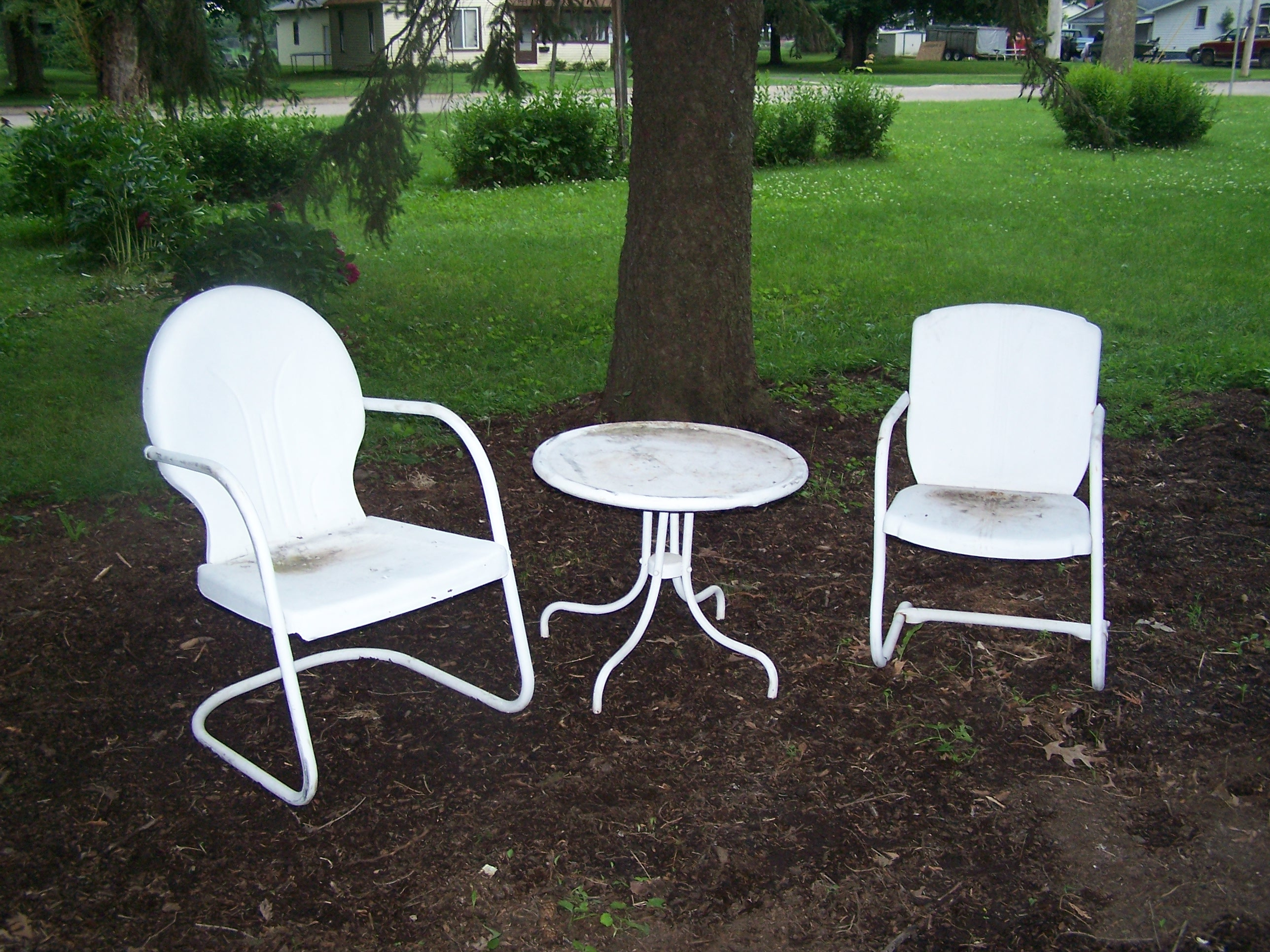 Lawn Chair Paint Project