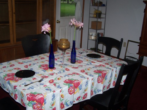 flowers and dinner 004