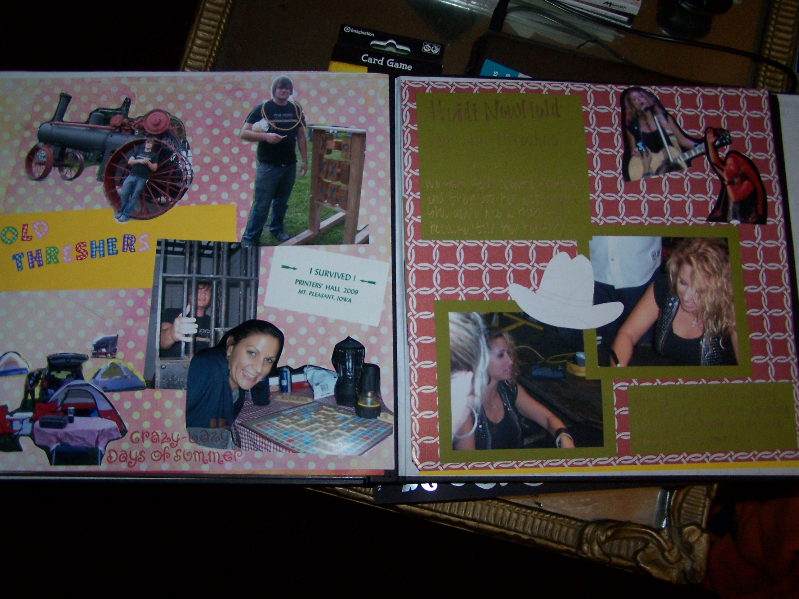 How to scrapbook pages - I Personally
