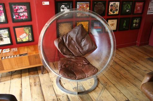"""Funky Phonica Chair,"" by jonnybaker on Flickr."