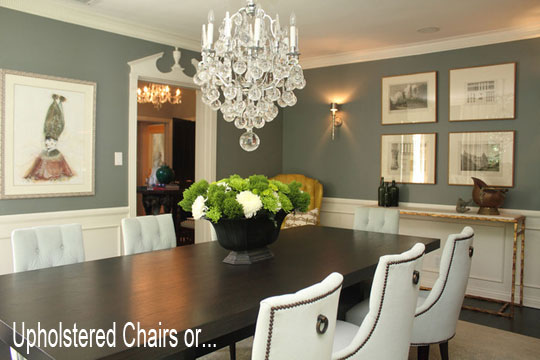 Upholstered Dining Room Sets