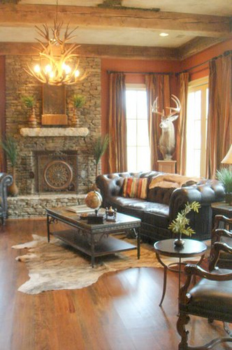 Sofa make mine eclectic for Rustic living room ideas